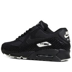 hot sale online 367a6 cdde3 Nike Air Max 90 Premium - Pre Order (Black Black) Clothing, Shoes  amp