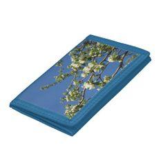 White #Crabapple Blooms Wallet http://www.zazzle.com/rinchen365flower*  #spring     #bloom