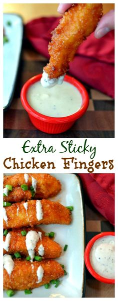 These sticky chicken fingers are perfect for dipping into ranch dressing, topping a salad or bed of rice, or serving with fries. And they take just 30 min!