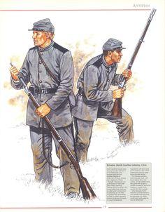 Privates North Carolina Infantry