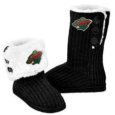 NHL Hockey Ladies Knit High End Button Boot Slippers - Bl... https://www.amazon.com/dp/B01CDEK91A/ref=cm_sw_r_pi_dp_U_x_7wzjAbSNXCHA4