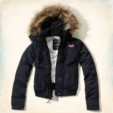 The Hollister All-Weather Bomber Jacket