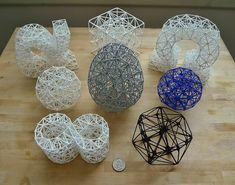 Todd Doehring, Ph.D. is the first to produce 3D printed tetrahedral models, what he calls meshagons.