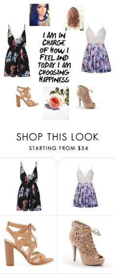 """Cute outfits!❤️"" by girlonline7 ❤ liked on Polyvore featuring Glamorous, Ally Fashion, Sam Edelman and Apt. 9"