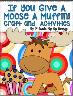If you provide the class with these activities they are sure to have fun learning!Find details about the packet here.Have fun with this favorite story by Laura Numeroff. The packet contains:Word Work...ook, ool, oonWriting...I like toAbout MooseWord SearchMath GameCompare and ContrastWhat did moose need?Reading for detailIllustration pageCraftIf you provide the class with these activities they are sure to have fun learning!Bundle $10 for 5 packets