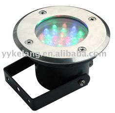 LED  underground light,Aluminium die-casting Body,stainless steel cover,48pcsLED,MAX5.76W,glass diffuser,plastic recess. great pin!