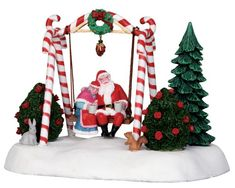 The best selection in UK of Lemax products for your Christmas Village. If you are looking for the best Lemax selling price, North Pole is authorized retailer of Lemax products for UK, Europe and Worldwide. Lemax Christmas Village, Lemax Village, Christmas Store, Christmas Villages, Christmas Elf, Christmas Lights, Christmas Ornaments, Christmas Ideas, Christmas Train