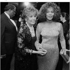 Whitney Houston and Lena Horne
