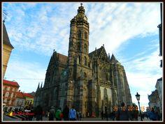 Kassa- Košice / Szent Erzsébet Dom - St Elisabet Cathedral Cathedral, Saints, Building, Travel, Santos, Voyage, Buildings, Cathedrals, Viajes