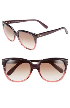 75d542011dd69 Free shipping and returns on kate spade new york  bayleigh  55mm sunglasses  at Nordstrom