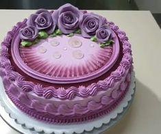 Cake Decorating Designs, Cake Decorating Videos, Cake Decorating Techniques, Cake Designs, Cookie Decorating, Decorating Ideas, Pretty Cakes, Beautiful Cakes, Amazing Cakes