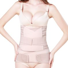 0cc86247746 3 in 1 Postpartum Support - Recovery Belly waist pelvis Belt Shapewear (Nude