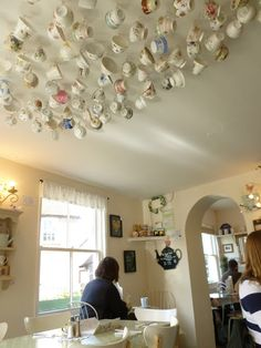 Cassandra's Cup Tearoom in Chawton, Hampshire is across the road from Chawton Cottage which was a home of Jane Austen. Tea Places, Cuppa Tea, My Cup Of Tea, Shops, Jane Austen, High Tea, Hampshire England, Tea Cups, Coffee Cups