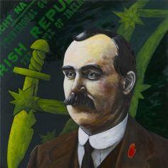 Original Portrait Painting by Antoon Knaap Irish Independence, Easter Rising, Original Art, Original Paintings, Michael Collins, Celtic Fc, Figurative Art, Buy Art, Saatchi Art