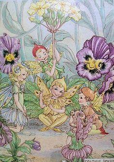 Flower Fairy Stories ❤•❦•:*´¨`*:•❦•❤ Marjorie Dawson
