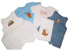 Oh Baby - BEAUTIFUL EMBROIDERY ON INFANT AND CHILDRENS GARMENTS