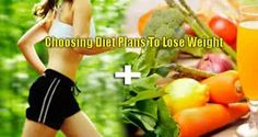 Diet Tips : Choosing Diet Plans To Lose Weight