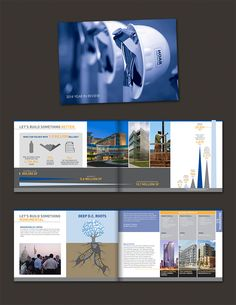 Architect brochure template design design layout pinterest annual report 2nd place hoar construction fandeluxe Image collections
