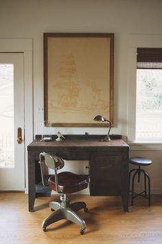 homesteadseattle:      #TBT Remember this factory desk?