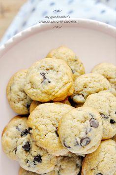 My Grandmother's Foolproof Chocolate Chip Cookie Recipe | lark #recipe #bestever #easy
