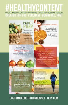 15 Best Healthy Holidays Newsletters Images Healthy Holidays Nutrition Newsletter Nutrition