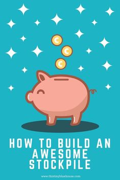 How to build a stockpile | Frugal Living | Money saving tips | Debt Free | Save money