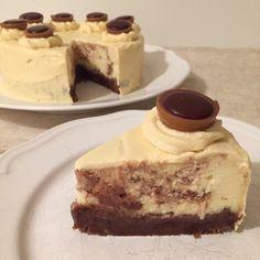Toffiftella-Cheesecake-Törtchen mit Karamell