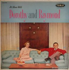 Could Dorothy and Raymond be sitting any farther apart?