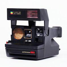 Great idea for guestbook. Polaroid Camera Kit with Film | #dotandbo.com
