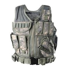 Military Tactical Vest Army Hunting Molle Airsoft Vest Outdoor Body Armor Swat Combat Painball Black Vest for Men Airsoft Vest, Airsoft Sniper, Drop Leg Holster, Gun Holster, Tactical Equipment, Tactical Gear, Military Desert Boots, Cross Draw Holster, Military Tactical Vest