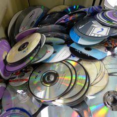 Used CDs, $2.50/shopping bag