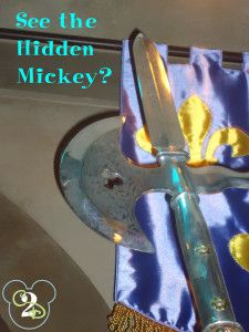 Can you spot this Hidden Mickey? See more Hidden Mickeys at http://www.couponingtodisney.com/category/disney-photos/hidden-mickey/