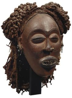 MASQUE TSCHOKWE Masks Art, Soul Art, African Masks, Beautiful Mask, Book Projects, Ocean Art, Tribal Art, African Women, Black Art