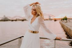 """Our enchanted CITY & SUNSET – PHOTO shoot 📸 is launched!! THE STORY OF THE SHOOT.. This time the photo shoot started with a desire to do a sunset city shoot, originally I wanted a rooftop with a drone filming from above and I promise that is coming! But as we also wanted to capture […] The post SADONI Bridal 2021 – """"Crossing Oceans"""" appeared first on Sadoni Shop. Drone Filming, City Sunset, City Vibe, Nordic Design, Sunset Photos, Silk Skirt, Oceans, Rooftop, Dress Making"""