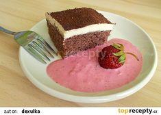 Rychlořezy s jogurtovopudinkovým krémem recept - TopRecepty.cz Tiramisu, Pudding, Pasta, Cake, Ethnic Recipes, Food, Custard Pudding, Kuchen, Essen