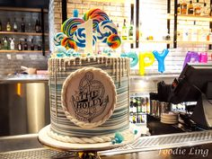 The Holdy Turns ONE | Foodie Ling    How about this for a 1st Birthday Cake!