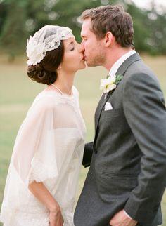 Twigs & Honey wedding veil. Photography: Aneta MAK - www.anetamak.com