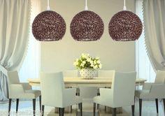 New-Indoor-Lighting-Home-Diameter-25CM-Coffee-E27-Aluminum-Lamps-Pendant-Lights
