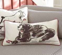 Jackson Lumbar Pillow Cover #potterybarn