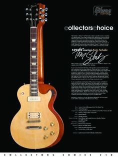 Gibson Collectors choice 10. Tom Scholz 1968 Les Paul Deluxe