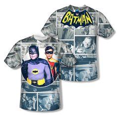 Superman Vs Doomsday Mos Allover Sublimation Licensed Adult T-Shirt