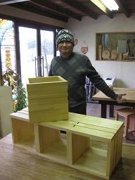 2010年2月18日 みんなの作品【引き出し・箱物】|大阪の木工教室arbre(アルブル)