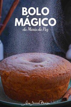 """Confira a receita do bolo mágico da personagem Maria da Paz da novela """"A Dona do Pedaço"""". Esta é a receita original do bolo de canela que trouxe o sucesso a Maria da Paz."""