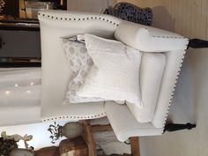 Pom Pom at Home Allegra Deco Pillow and Cococozy Oxford Pillow at Pom Pom Interiors Hollywood