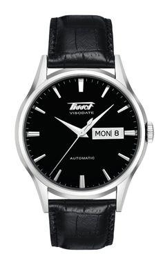 Página Web Oficial de Tissot - Relojes - Heritage - TISSOT HERITAGE VISODATE AUTOMATIC - T0194301605101