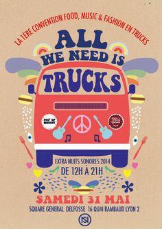 Le 1er festival de food trucks débarque à Lyon ce weekend !