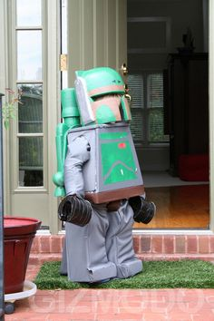 Boba Fett Lego Costume