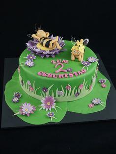Biene-Maja Torte, 3D-Biene Maja Torte, Motivtorte BIene-Maja, Biene Maja