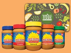CBS Soaps in Depth - March is National Nutrition Month, and to celebrate, you can enter to win one of two Sunbutter Prize Packages including a $35 Whole Foods Gift Card! ($73 value) - Ends March 31, 2017