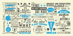 Typography designed for Rennervate Indonesia office